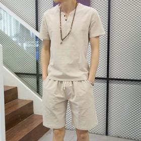 【棉麻套装限量10套】上衣加裤子加手链共34.5