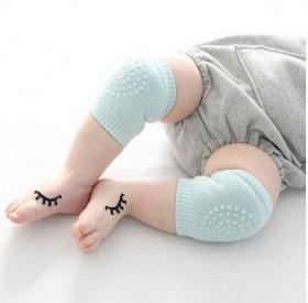 2双 婴儿护膝护肘护腿纯棉多功能防摔爬行袜套