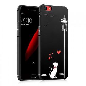 oppor9s手机壳r9splus个性创意防摔彩绘