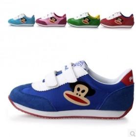 【包邮】 大嘴猴儿童运动鞋真皮鞋头中小童鞋男女童鞋