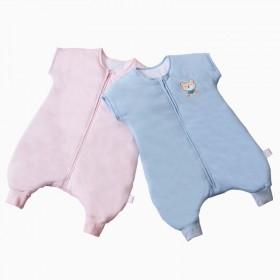 婴儿短袖分脚睡袋纯棉夏季宝宝睡袋