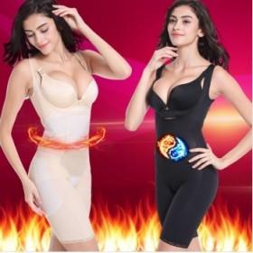 加强版燃脂美体塑身衣体雕收腹束腰束身衣连体衣女