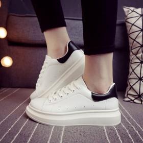 经典绑带小白鞋 百搭运动休闲鞋