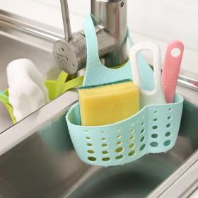 塑料挂篮沥水收纳蓝洗菜多功能收纳