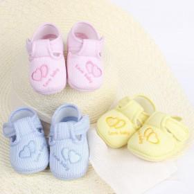 婴儿鞋0-6-12个月软底透气棉布宝宝单鞋