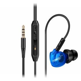 耳机挂耳式带麦线控运动跑步重低音