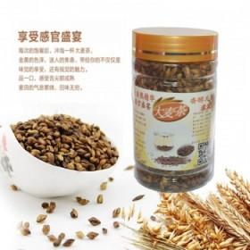 烘焙型原味大麦茶 茶叶 花茶200克实惠罐装