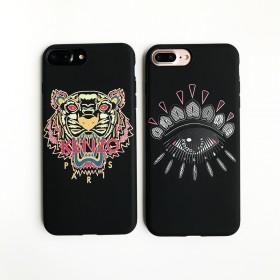 iPhone6S/7欧美虎头眼睛磨砂苹果7plus