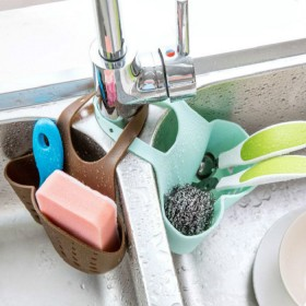 水槽塑料沥水篮收纳挂篮厨房小用品厨具置物架收纳架沥