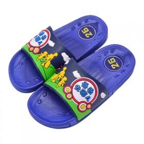 儿童拖鞋夏男孩女孩浴室室内可爱卡通软底防滑家居爸爸