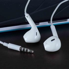 苹果线控手机耳机通用耳塞式重低音有线带麦全民K歌
