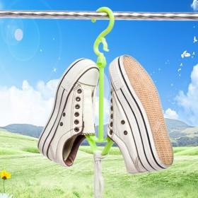 实用双钩加大加厚晒鞋架挂鞋架晾鞋架单个装