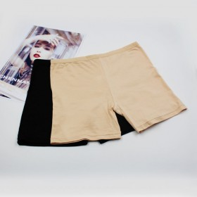 赠运费险  2条装 防走光莫代尔安全裤平角学生三分