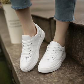 2017春季新款女鞋真皮小白鞋牛皮板鞋百搭休闲鞋