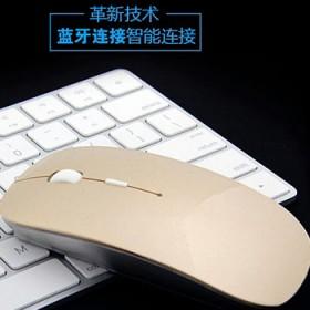 无线鼠标静音无声笔记本台式电脑通用男女生薄白色