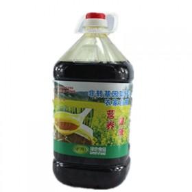 菜籽油四川菜籽油清油非转基因