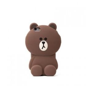 布朗小熊iPhone7硅胶手机壳6plus软壳