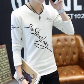 长袖T恤男春装打底衫秋衣韩版男士卫衣春季男装小衫