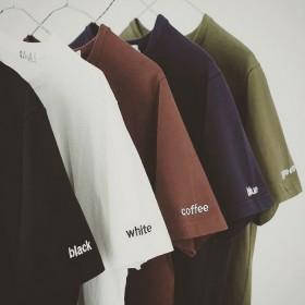 2017T恤男式夏季新款百搭韩版男圆领短袖T恤时尚