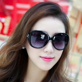 太阳镜潮明星款眼镜2017新款圆形个性女墨镜