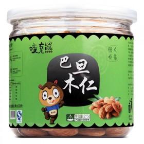 【唛克熊-巴旦木仁215g】原味罐装巴达木扁桃仁炒