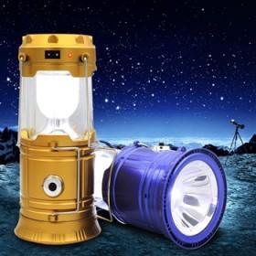 户外可伸缩手提灯挂灯马灯LED太阳能可充电露营野营