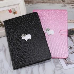 苹果平板ipad air2贴小绵羊保护套mini2