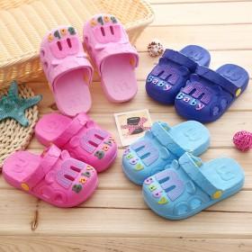 中小童卡通浴室软底凉拖防滑沙滩凉鞋夏款居家凉拖鞋