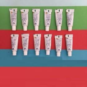 每只3g 共12支 婧氏草本牙膏早晚不含氟去渍