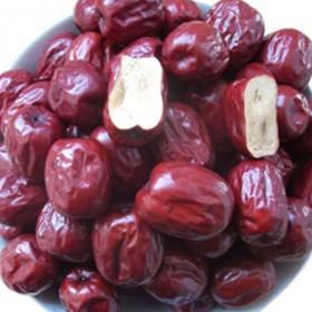 大红枣子2500克 会拉金黄丝的红枣