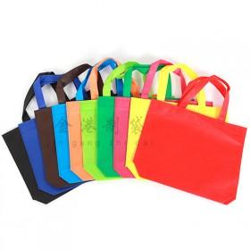 无纺布袋子定做手提袋环保袋定制购物袋现货有底无侧