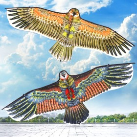 风筝 户外大型儿童风筝玩具老鹰小风筝轮 1.1米平