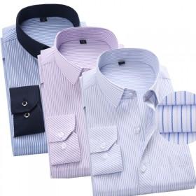 男士商务长袖衬衫工装