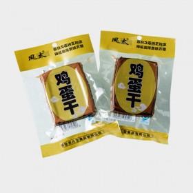凤太鸡蛋干100gX10袋 特产零食小吃炒菜