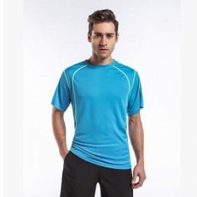 运动男式速干t恤男款户外吸汗速干衣男短袖跑步衫大码