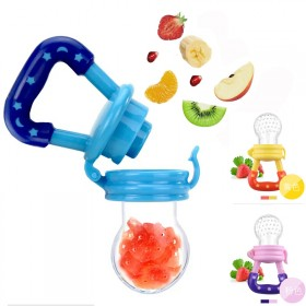 宝宝食物咬咬袋 咬咬乐水果辅食器婴儿奶嘴牙胶果蔬乐