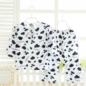 儿童绵绸睡衣超薄3-5-7-9岁男童女童
