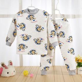 儿童保暖内衣套装 加绒加厚中小童宝宝保暖衣