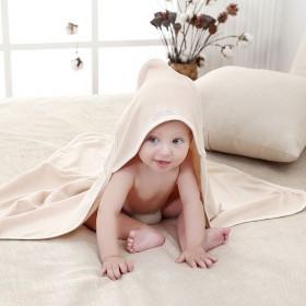婴儿夏款抱被 纯彩棉