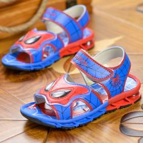 蜘蛛侠童鞋儿童凉鞋