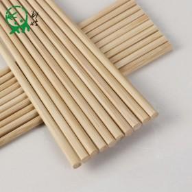 无漆无蜡楠竹筷子精品10双装