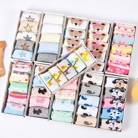 春夏秋季儿童袜纯棉宝宝袜薄款男童女童袜婴儿袜子