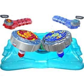 魔幻陀螺2代发光玩具对战盘兽能引擎发射器