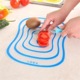 防磨防滑大号创意塑料切菜板四片装