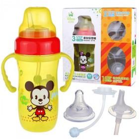 正品迪士尼多功能奶瓶水壶套装