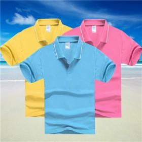 儿童翻领短袖POLO衫订做夏季小学生diy个性体恤