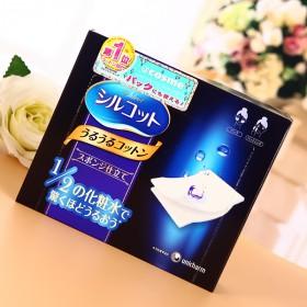 【1件包邮】日本尤妮佳化妆棉 1/2 和1/3任选