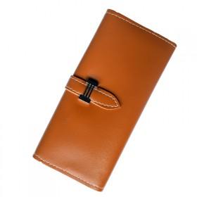 春季新款钱包女长款大容量抽带式钱包