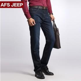 战地吉普 男士薄款牛仔裤 中腰直筒 亏本冲量