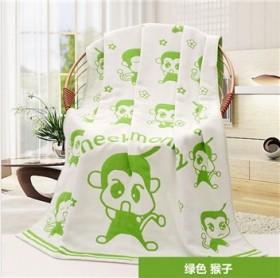三层纱布纯棉蘑菇浴巾婴儿宝宝毛巾抱被成人盖毯夏凉被